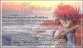 You are Kurama